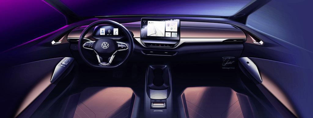 Das Interieur des neuen VW ID.4