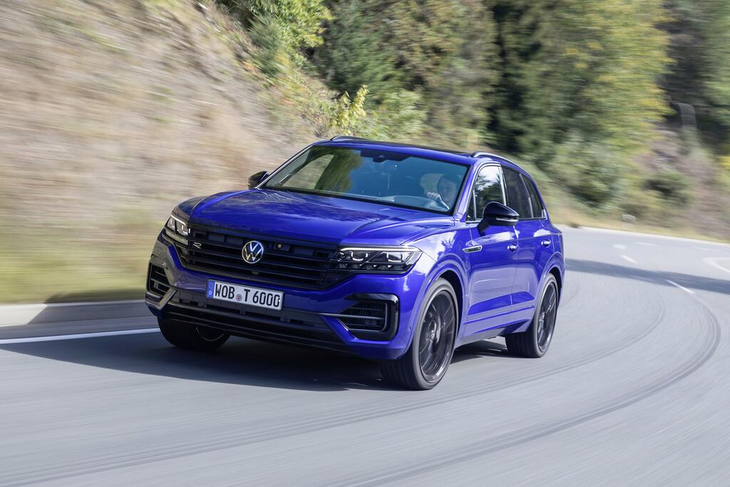VW Touareg auch als Hybrid erhältlich