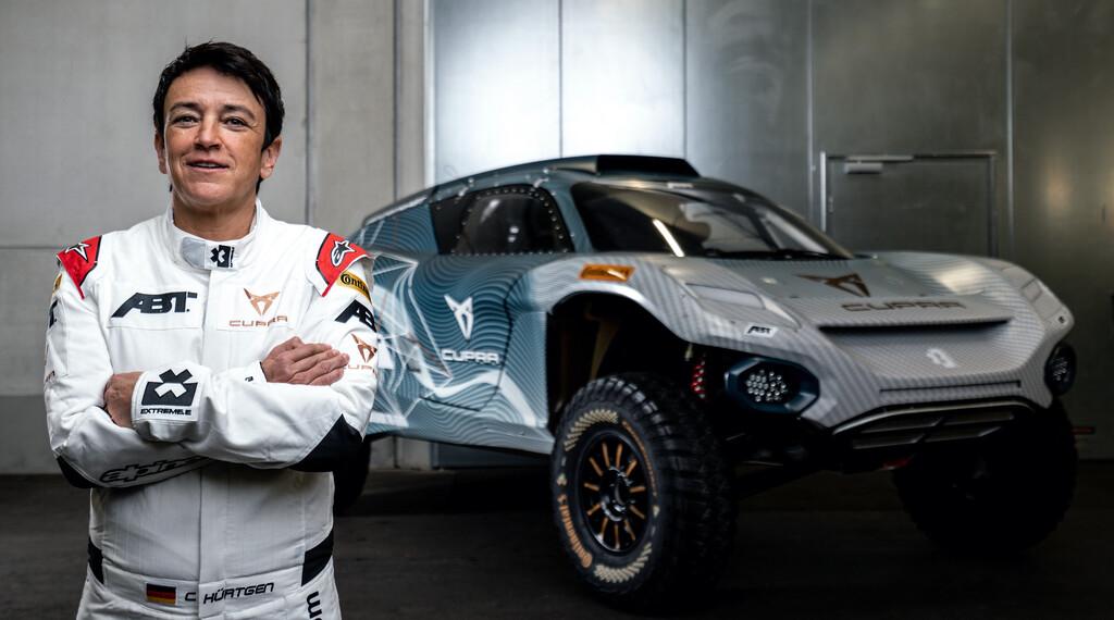 Das ABT-Team für die Elektro-Rallye Extreme E steht