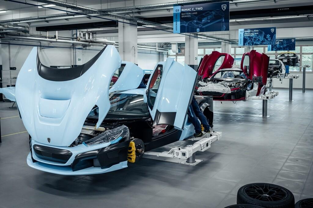 Rimac baut sechs C-Two-Vorserienfahrzeuge