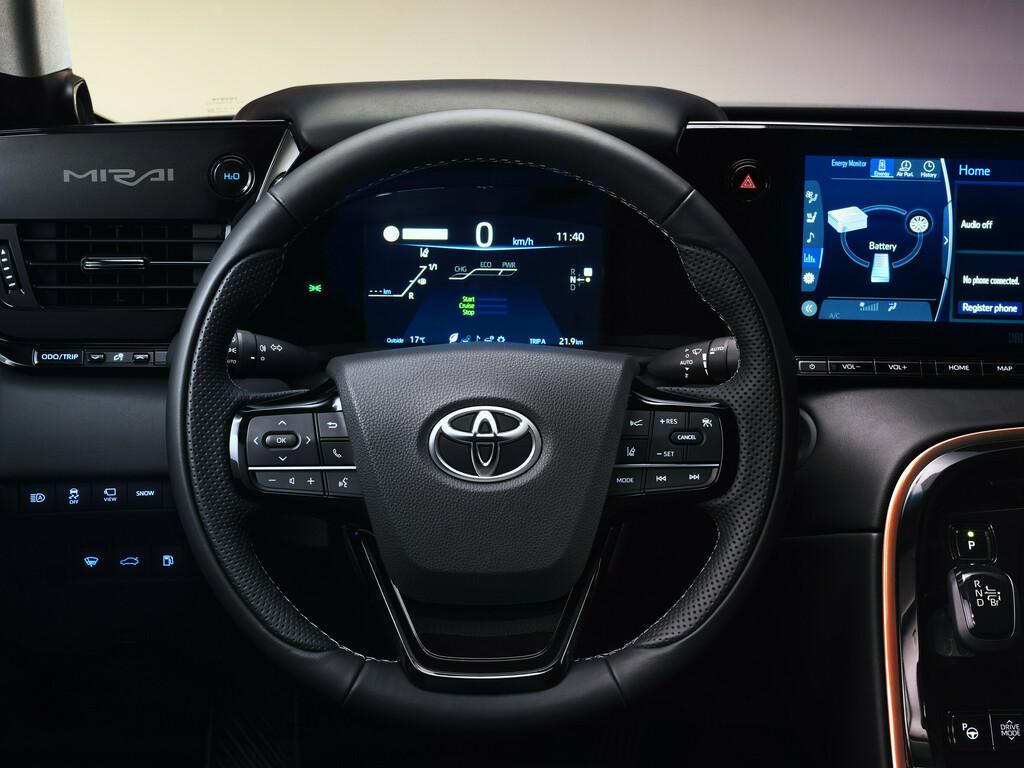 Toyota Mirai innen
