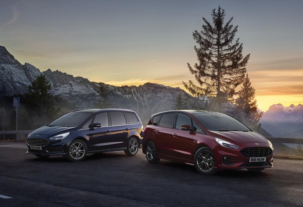 Ford S-Max und Galaxy als Hybrid