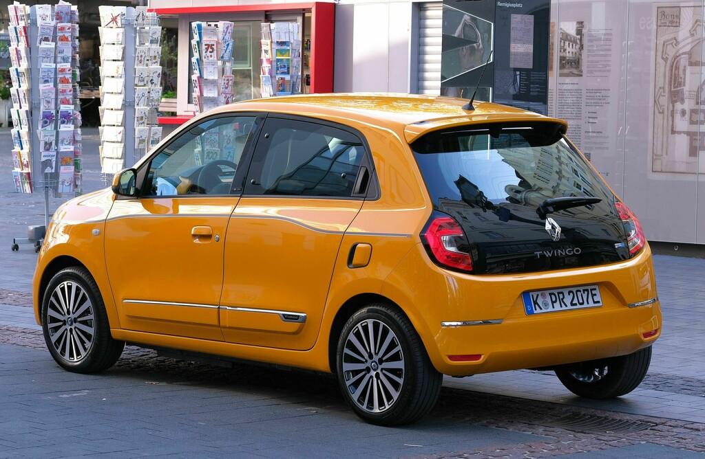 Renault Twingo Electric Heck