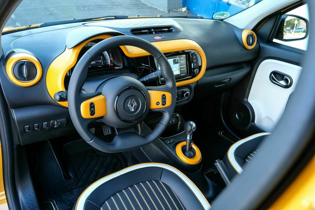 Renault Twingo Electric Innenansicht