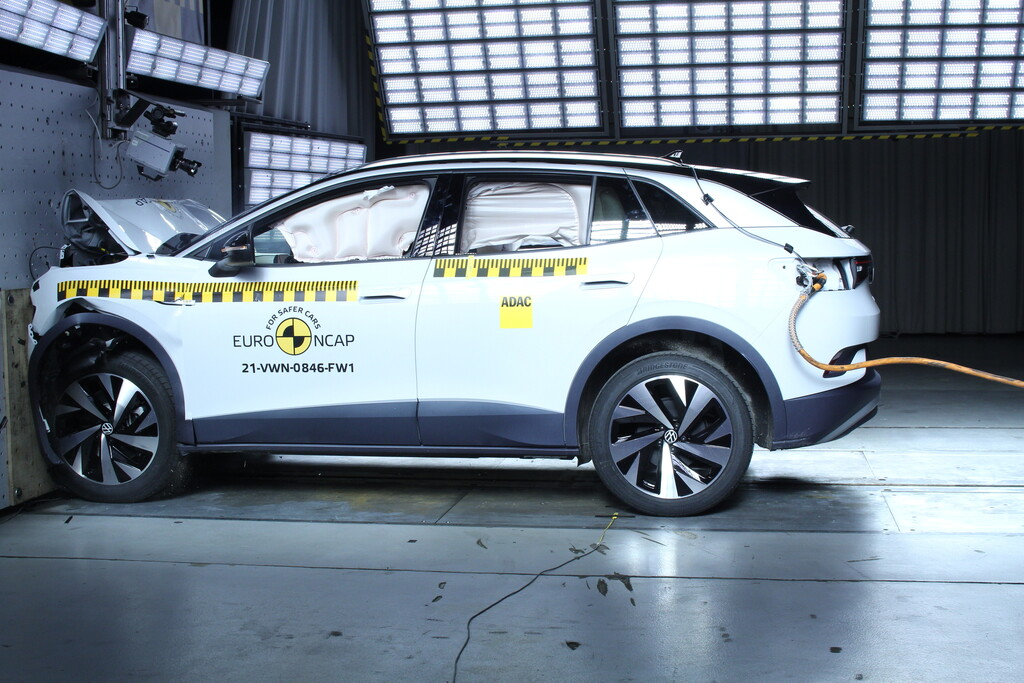 VW ID 4 im Euro NCAP-Crashtest