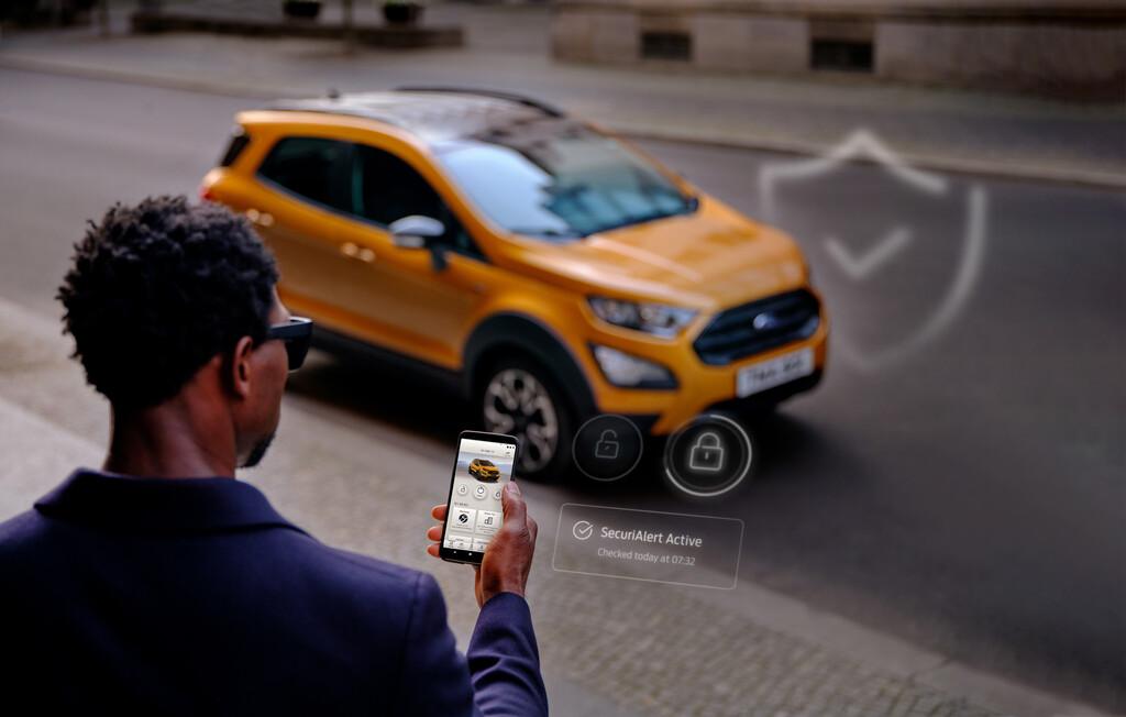 Ford meldet Einbruch per Smartphone